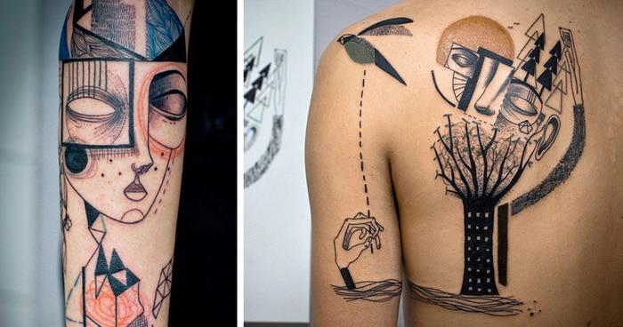 accademia del lavoro tatuaggi cubisti 2